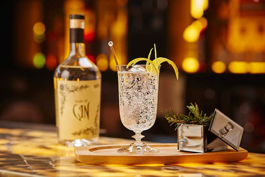 Itlalian Special served Gin and Tonic