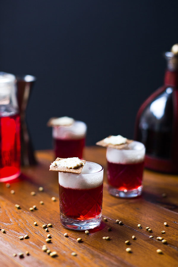 Borsch Cocktail shot