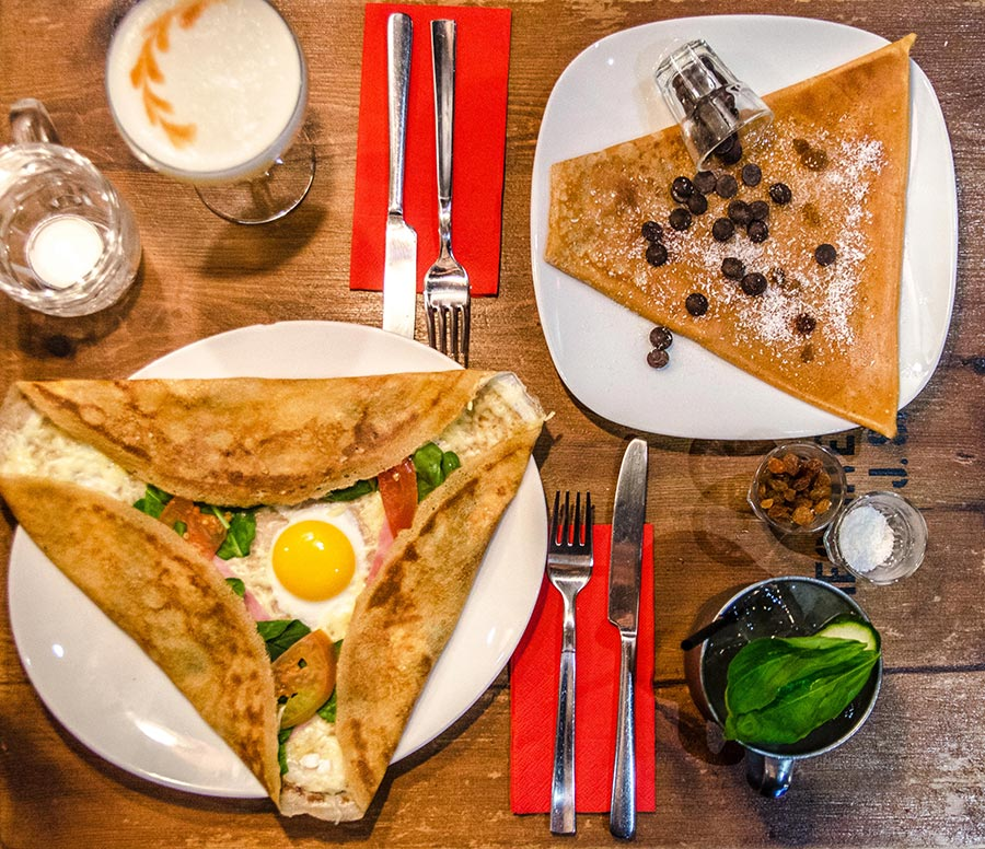 Best crepes in Barcelona