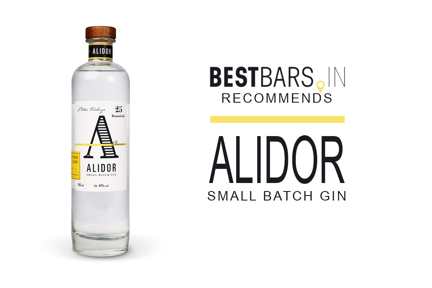 Alidor, Small Batch Gin