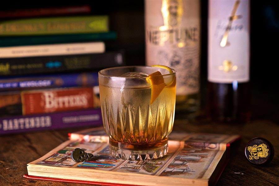 The Fig Rum Old Fashioned