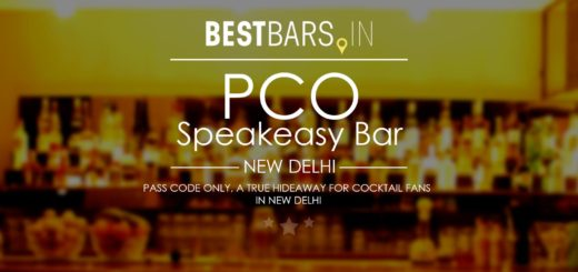 PCO - Pass Code Only, Speakeasy bar in New Delhi