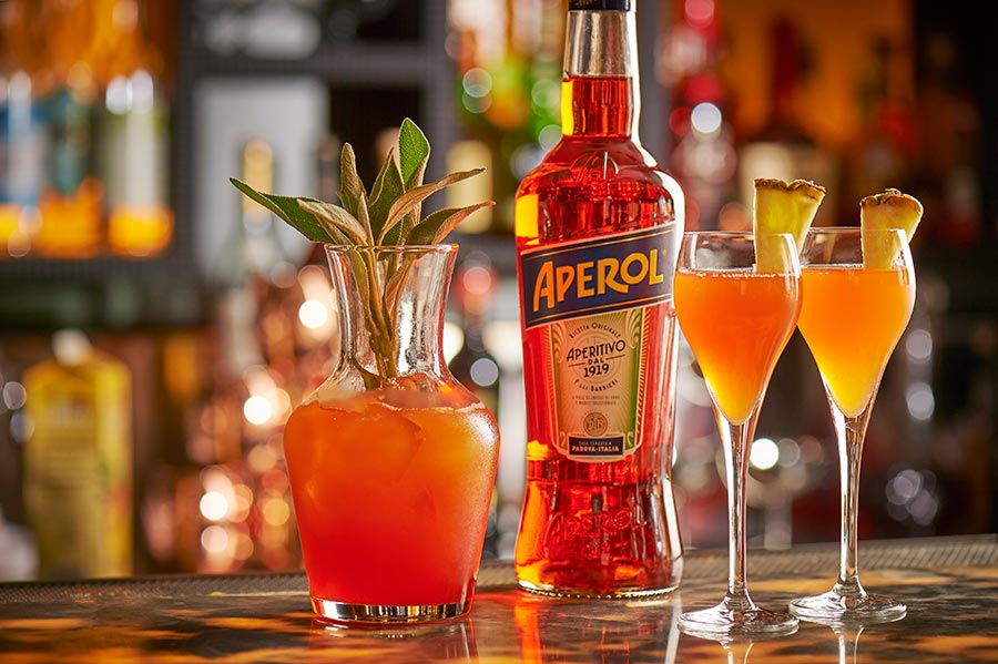 T'is the Aperol Cocktail at Ritorno, London