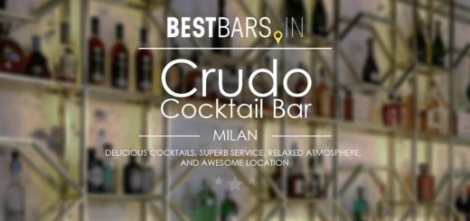 Crudo Cocktail Bar, Milan
